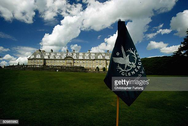 Exclusive Scottish hotel and golf club Gleneagles is seen in this June 22 2004 photo in Perthshire Scotland The secluded luxury establishment has...