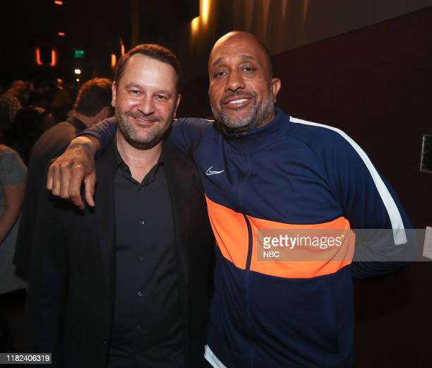 US Exclusive Screening with Dan Fogelman and Cast Pictured Dan Fogelman awardwinning writer producer and director Kenya Barris moderated at The...