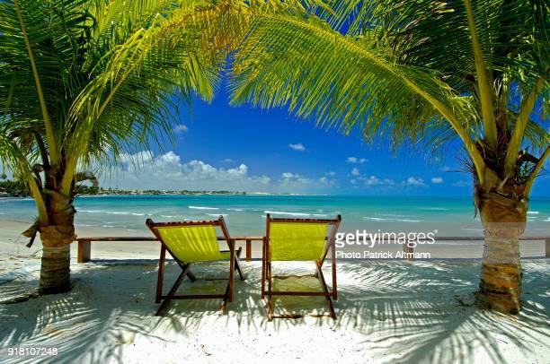 Exclusive Small Beach Near the City Natal, State of Rio Grande do Norte, Brazil