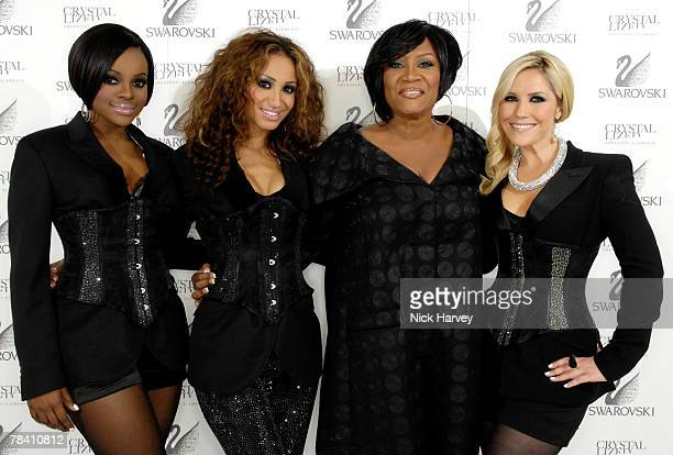 **Exclusive** Sugababes attend the Swarovski Gift Lounge at Fashion Rocks on October 18 2007 in London