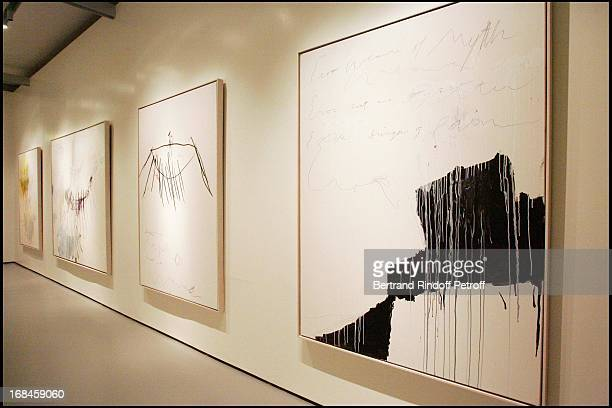 Exclusive Work of Cy Twombly at Exclusive Francois Pinault prepares the Palazzo Grassi to exhibit his art collection