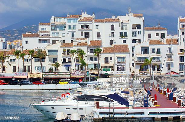Exclusive yacht harbour of Puerto Banœs Marbella Costa del Sol Malaga province Andalusia Spain