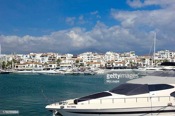 Exclusive yacht harbour of Puerto Banœs, Marbella, Costa del Sol. Malaga province, Andalusia, Spain
