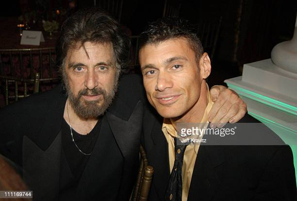 *Exclusive*Scarface cast members Al Pacino and Steven Bauer at the 20th Anniversary premiere event celebrating the theatrical rerelease held at The...