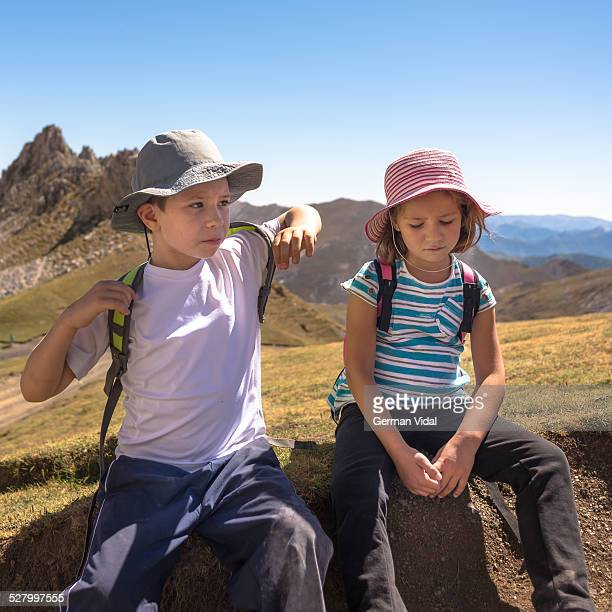 Excursion day: kids on the top