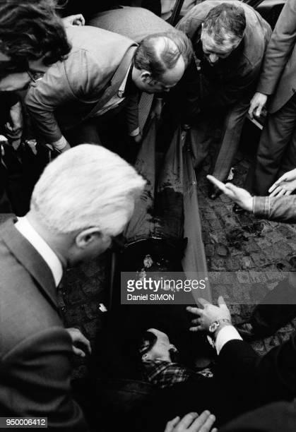 Exécution de Jacques Mesrine Porte de Clignancourt le 2 novembre 1979 à Paris France