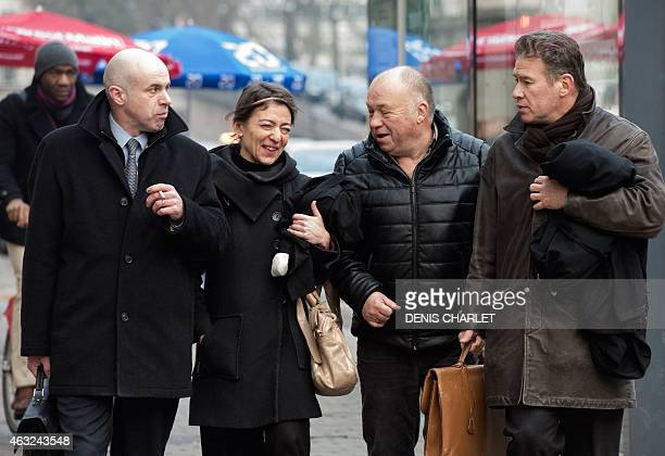 Exdirector of the BTP Eiffage construction group subsidiary and defendant David Roquet lawyer Alice CohenSabban Frenchborn brothel owner Dominique...