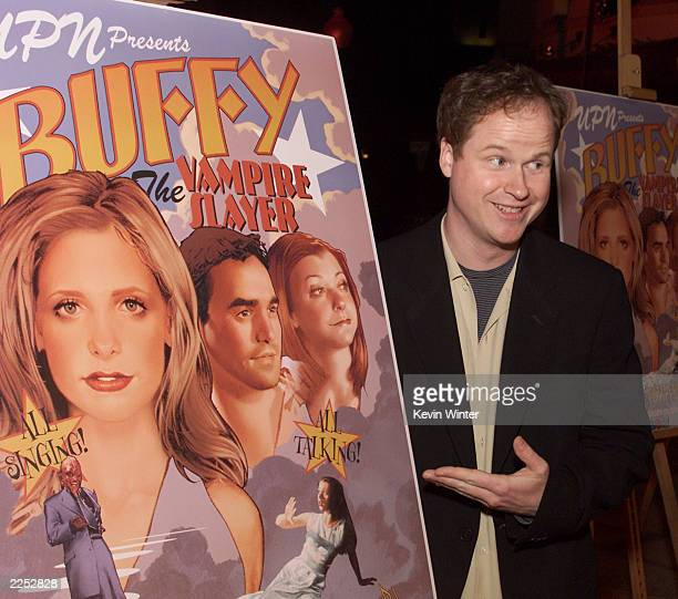 Exec Prod/creator/director Joss Whedon at a screening of Once More With Feeling the musical episode of Buffy The Vampire Slayer at the Paramount...