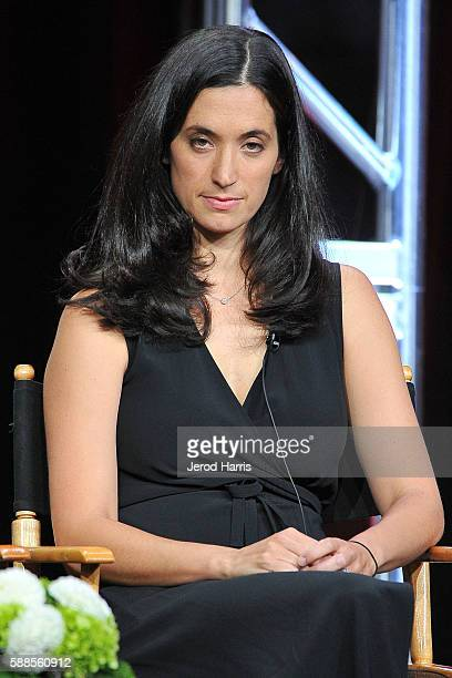 Exectuive producer Sarah Treem speaks onstage at the 'Love Marriage On TV' panel discussion during the CW portion of the 2016 Television Critics...