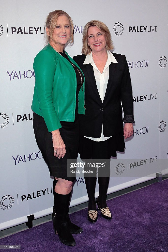 Exectutive producer Lori McCreary and creator/writer Barbara Hall attend The Paley Center for Media presents an evening with 'Madame Secretary' at The Paley Center For Media on April 27, 2015 in New York City.