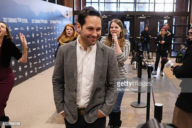 Exectutive Producer Paul Rudd attends 'Fun Mom Dinner' Premiere during the 2017 Sundance Film Festival at Eccles Center Theatre on January 27 2017 in...