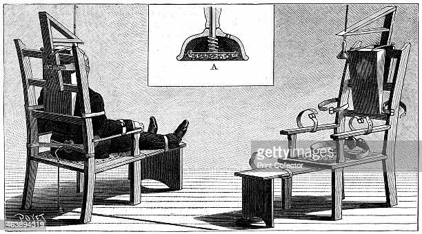 Execution by electric chair 1890 The first execution by electric chair was carried out at Auburn Prison New York 6 August 1890 using a Westinghouse...