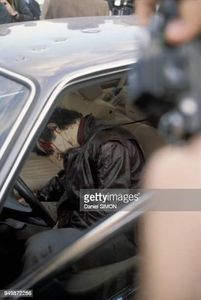 Execution de Jacques Mesrine à la Porte de Clignancourt le 3 novembre 1979 à Paris France