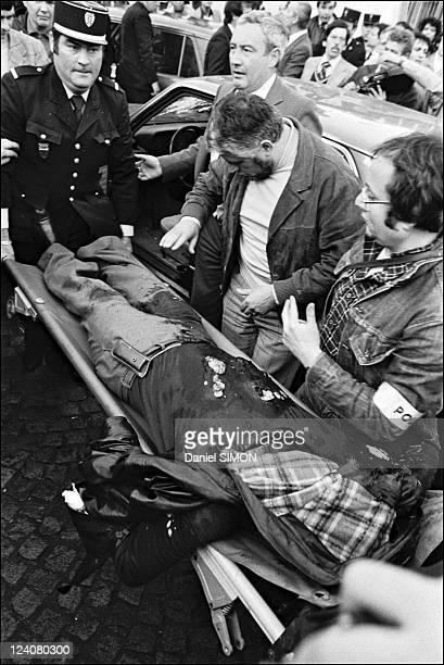 Execution of Jacques Mesrine at the porte de Clignancourt in Paris France on November 03 1979 Captain Broussard