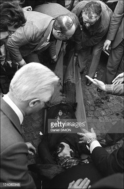Execution of Jacques Mesrine at the porte de Clignancourt in Paris France on November 03 1979