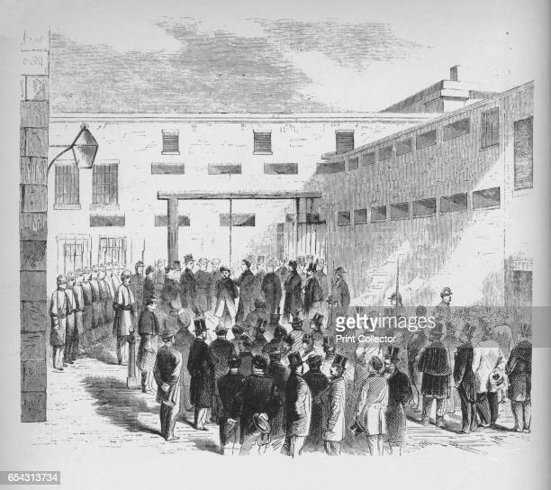 Execution of slave trader Nathaniel Gordon in the Tombs prison in New York Sentimental enthusiasm for notions of brotherhood of man found frequent...