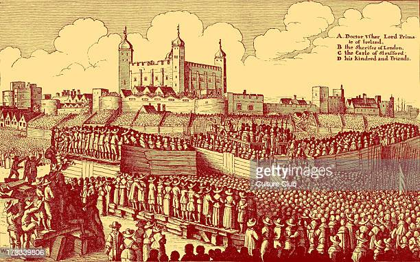 Execution of Strafford after the original by Václav Hollar Thomas Wentworth 1st Earl of Strafford was executed on Tower Hill on 12 May 1641 following...