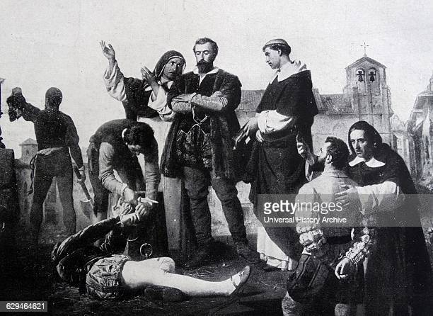 Execution of the Comuneros of Castile, by Antonio Gisbert . The Revolt of the Comuneros was an uprising by citizens of Castile against the rule of...