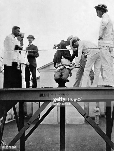 Execution With The Garrotte On The Philippines 1927