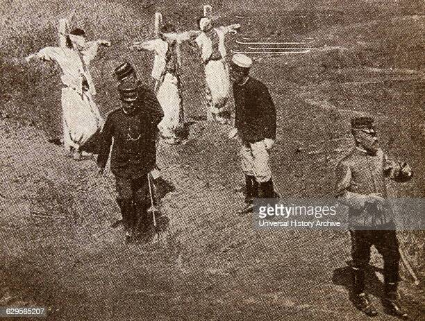 Executions of opponents to Japanese land seizures in Korea during the SinoJapanese War in 1894