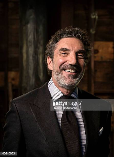 TV executive and writer Chuck Lorre is photographed for Los Angeles Times on April 21 2014 in Burbank California PUBLISHED IMAGE CREDIT MUST READ...