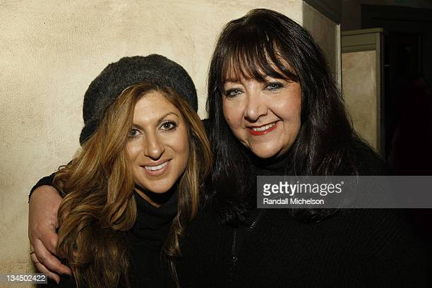 BMI Executive Anne Ceccere and BMI executive Doreen Ringer Ross attend the BMI Dinner during the 2009 Sundance Film Festival at Zoom on January 22...