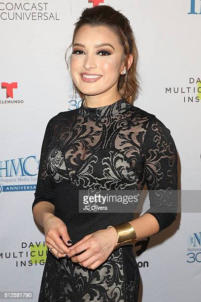 Executive Antonietta Collins attends the 19th Annual National Hispanic Media Coalition Impact Awards Gala at Regent Beverly Wilshire Hotel on...