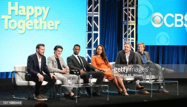 Executive Ben Winston actor Felix Mallard actor Damon Wayans Jr actress Amber Stevens West executive producer Tim McAuliffe and executive producer...