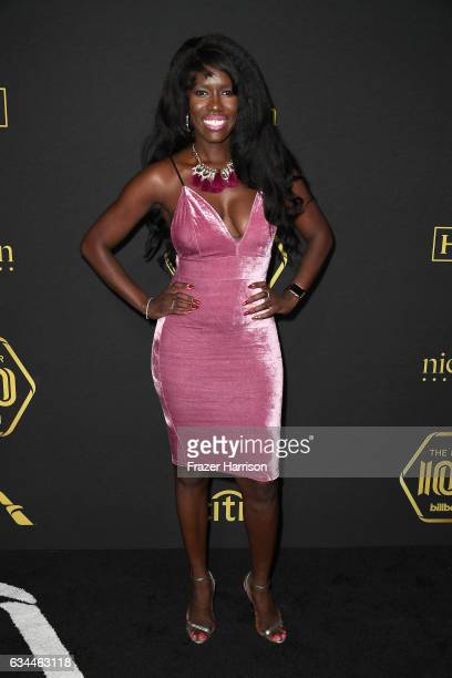 Executive Bozoma Saint John attends Billboard Power 100 Red Carpet at Cecconi's on February 9 2017 in West Hollywood California