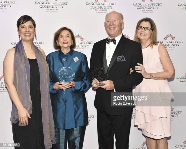 CSC Executive Chair Julia Forth honoree Ruth Weil honoree Dr Deane Wolcott and CSC Boardmember Judy Caruthers attend Cancer Support Community...