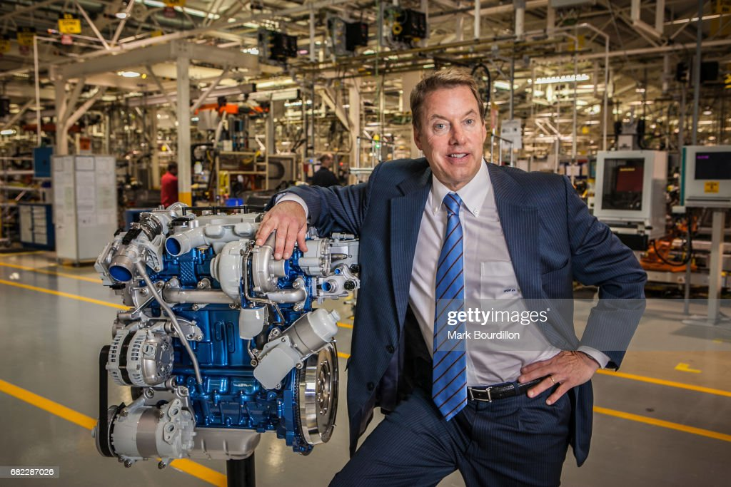 Executive chair of the Ford Motor Company William Clay Ford Jr is for the Sunday Times on May 26, 2011 in Dagenham, England.