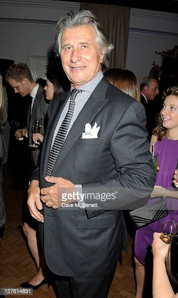 Executive Chairman of Cartier UK Arnaud Bamberger attends the Quintessentially Awards 2011 at One Marylebone on September 28 2011 in London England
