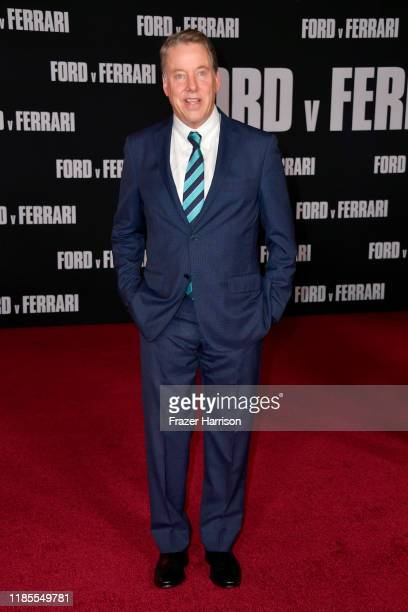 Executive Chairman of Ford Motor Company Bill Ford attends the Premiere of FOX's Ford V Ferrari at TCL Chinese Theatre on November 04 2019 in...