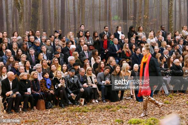 Executive Chairman of the Federation of Haute Couture and Fashion Pascal Morand President of Reunion des Musees Nationaux Sylvie Aubac Ambassador of...