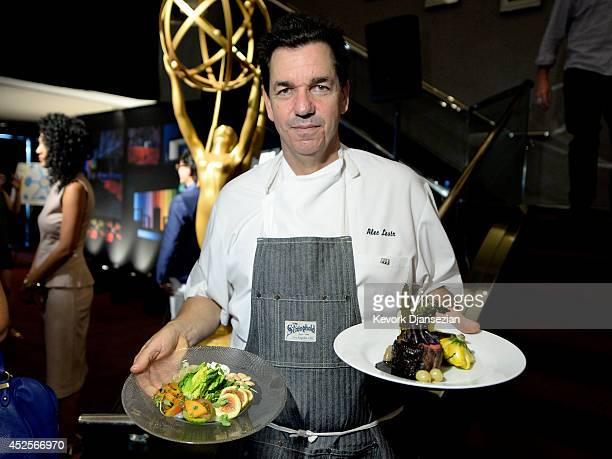 Executive chef Alec Lestr Patina Catering presents the food during 66th Annual Primetime Emmy Awards 2014 Creative ArtsGovernors Ball sneak peek...