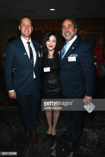 Executive Committee member, GMM/EVP Center Core, Macy's Marc Mastronardi, Sharon Cho of Parsons School of Design, and FSF Board Member Paul Rosengard...