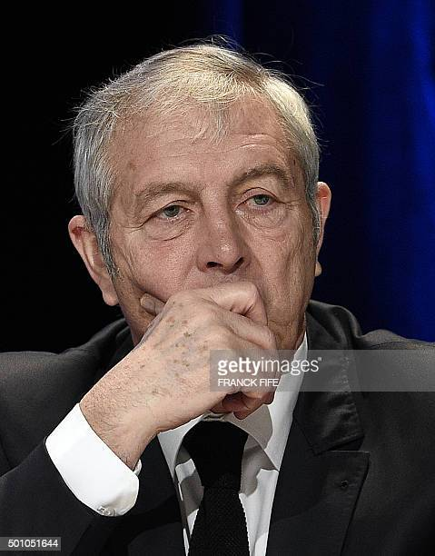 Executive committee member of the French Football Federation Joel Muller attends the FFF Federal Assembly in Paris on December 12 2015 / AFP / FRANCK...