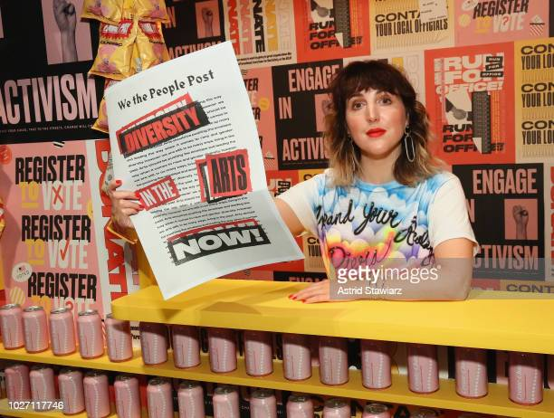 Executive creative director and cofounder of Refinery29 Piera Luisa Gelardi attends Refinery29 29Rooms New York 2018 Expand Your Reality Opening...