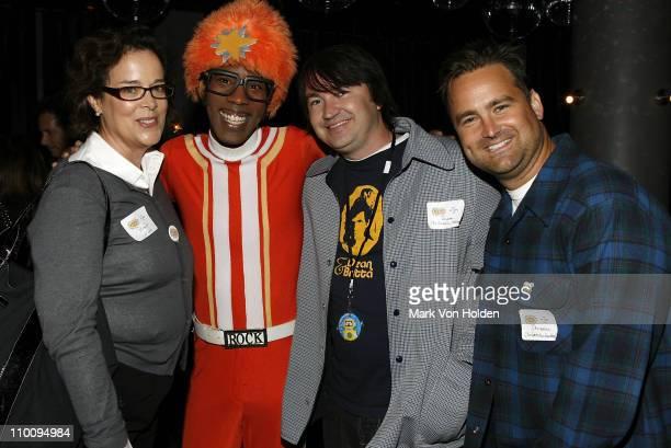 Executive Creative Director, Nickelodeon Preschool Brown Johnson; show actor DJ Lance Rock; and show co-creators Scott Schultz and Christian Jacobs...