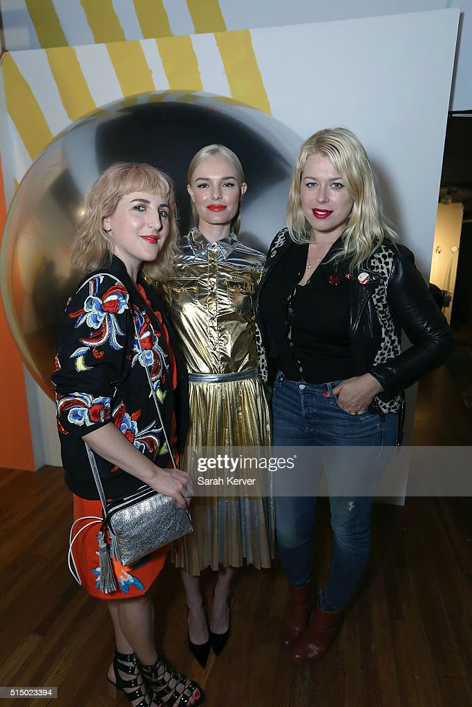 Executive Creative Director Piera Gelardi, actress Kate Bosworth and Amanda de Cadenet attend Refinery29's School of Self Expression opening night party presented by Neiman Marcus during SXSW on March 11, 2016 in Austin, Texas.