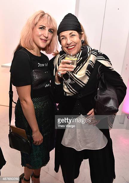 Executive Creative Director/Cofounder Refinery29 Piera Gelardi and Tziporah Salamon attend the Refinery29 'Style Stalking' Book Launch Party on...