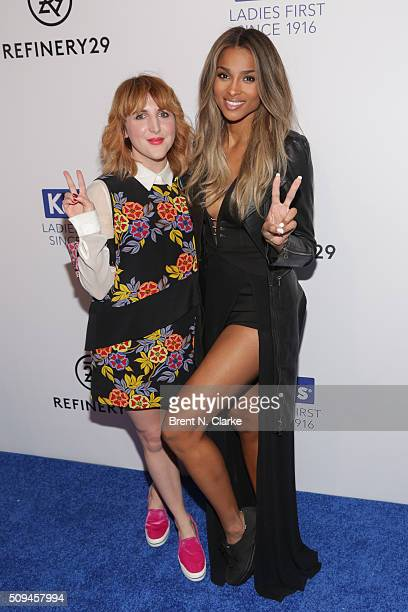 Executive Creative Director/Founding Member R29 Piera Gelardi and Singer/event performer Ciara attend the Keds Centennial Celebration held at...