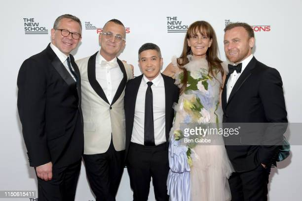 Executive Dean of Parsons School of Design Joel Towers, Steve Kolb, Thakoon Panichgul, Julie Gilhart, and Burak Cakmak attend the 71st Annual Parsons...