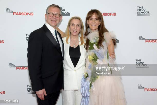 Executive Dean of Parsons School of Design Joel Towers, Susan Rockefeller. And Julie Gilhart attend the 71st Annual Parsons Benefit honoring...
