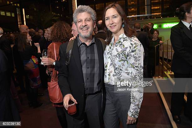 Executive Director and professor at University of Washington's School of Drama Todd London and 2011 Steinberg Distinguished Playwright Award...