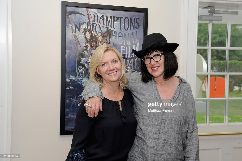 Executive Director Anne Chaisson (L) and film director Katherine Dieckmann attend the Strange Weather screening during the Hamptons International Film Festival 2016 at Guild Hall on October 8, 2016 in East Hampton, New York.