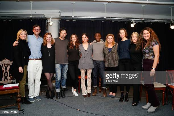 HIFF executive director Anne Chaisson HIFF artistic director David Nugent Actors Gillian Williams Luke Kirby Andi Matichak writer and director...