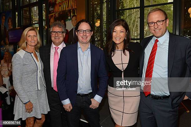Executive Director at Advertising Week Matt Scheckner Chief White House Correspondent of ABC News Jonathan Karl ABC News Nightline Host Juju Chang...