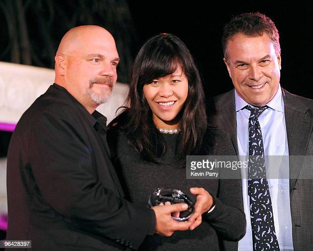 Executive director Bill Livermore Mei Sze Greene and Jeff Greene attend the Somaly Mam Foundation's 2nd annual Los Angeles Gala held at a private...