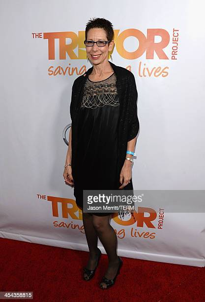 Executive Director CEO Abbe Land attends 'TrevorLIVE LA' honoring Jane Lynch and Toyota for the Trevor Project at Hollywood Palladium on December 8...